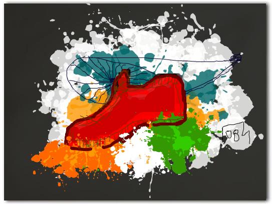 impression_of_shoe